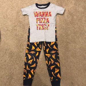 Boys Pizza Pajamas